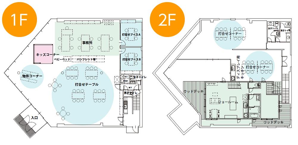 イエステーション福知山店フロアマップ