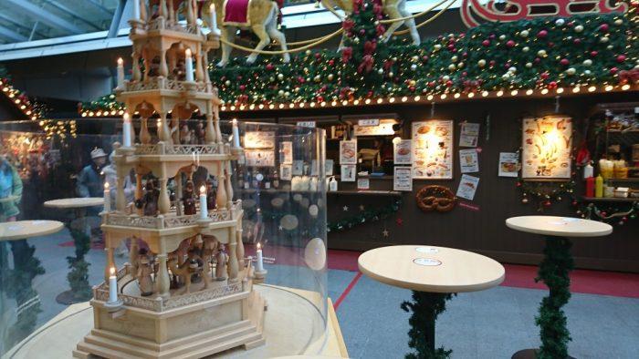 クリスマスマーケットにて