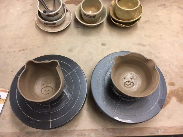 陶芸に行ってきました!